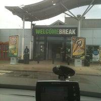 Photo taken at Newport Pagnell Southbound Services (Welcome Break) by Mark W. on 6/6/2012