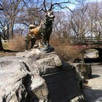 Photo taken at Balto Statue by Debra W. on 2/27/2012