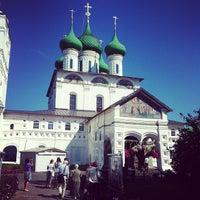 Photo taken at Свято-Введенский Толгский женский монастырь by Захар Г. on 8/11/2012