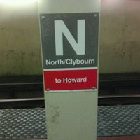 Photo taken at CTA - North/Clybourn by Berto S. on 5/7/2012