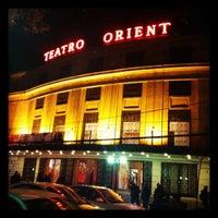 Photo taken at Teatro Oriente by Ló R. on 8/2/2012