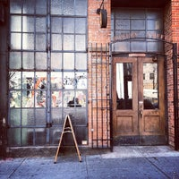 Photo taken at Bowery Coffee by Matt D. on 2/19/2012