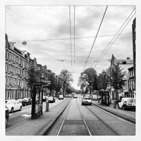 Photo taken at Tramhalte Overtoomsesluis by Ria B. on 6/28/2012