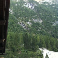 Photo taken at Rifugio Capanna Trieste by Adidax on 8/18/2012