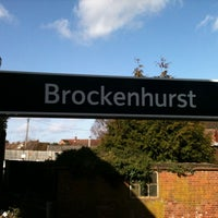 Photo taken at Brockenhurst Railway Station (BCU) by Jim K. on 3/3/2012