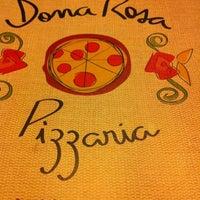 Das Foto wurde bei Dona Rosa Pizzaria von Celinha N. am 3/16/2012 aufgenommen