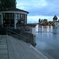 Foto scattata a Rheinterrasse da Nejat S. il 7/15/2012