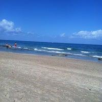 Photo taken at Lantana Beach by Jacquie L. on 3/23/2012