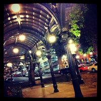 Photo taken at Pioneer Square Pergola by Jonathan I. on 7/21/2012