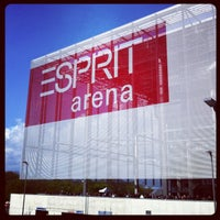 Photo taken at ESPRIT arena by Markus R. on 4/22/2012