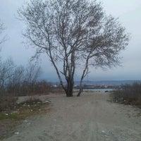 Photo taken at Плаж Аспарухово (Asparuhovo beach) by Diana A. on 3/30/2012
