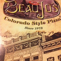 Photo taken at Beau Jo's Pizza by Jay B. on 6/17/2012