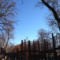 Photo taken at Vanderbilt Playground by Ezra S. on 2/26/2012