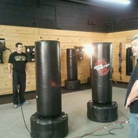 Photo taken at Bullman's Kickboxing and Krav Maga by Lisa M. on 2/9/2012