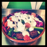 Photo taken at Maoz Vegetarian by Michael S. on 3/3/2012