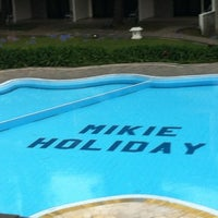Photo taken at Mikie Holiday Resort & Hotel by Jinnie D. on 8/13/2012