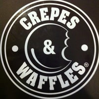 Photo taken at Crepes & Waffles by MARIAN SHARELLA W. on 7/6/2012