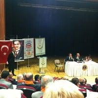 Photo taken at Nâzım Hikmet Kültür Merkezi by Turgay O. on 4/7/2012