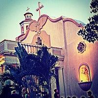 Photo taken at St. Jerome Emiliani & Sta. Susana Parish by Markcchiato on 6/24/2012