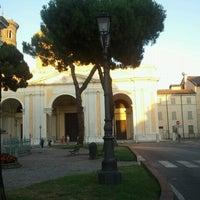 Photo taken at Piazza Duomo by Roberto B. on 7/8/2012