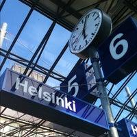 Photo taken at VR Helsinki Central Railway Station by Juno K. on 8/17/2012