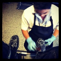 Photo taken at Shoe shine - Bergstrom Airport by Bryan P. on 6/25/2012
