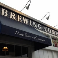 Photo taken at Marin Brewing Company by Shelley C. on 3/28/2012