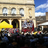 Photo taken at Place du Théâtre by Pascal S. on 8/25/2012