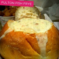 Photo taken at (The Original) Fulton Fish Frye by Cathy V. on 9/7/2012