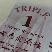 Photo taken at Triple 1 Chinese Restaurant by Che on 3/30/2012
