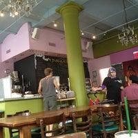 Photo taken at Jivamuktea Café by Heather B. on 6/30/2012
