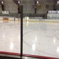 Photo taken at BladeRunners Ice Complex by Erin O. on 6/9/2012