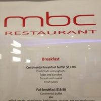 Photo taken at MBC Restaraunt by Matthew R. on 2/14/2012