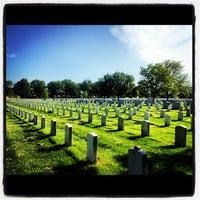 Photo taken at Arlington National Cemetery by Kristen👸🏻 B. on 5/18/2012