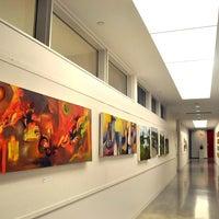 Photo taken at Richard E Peeler Art Center by DePauw University on 8/14/2012