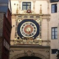 Photo prise au Gros Horloge par Gaëllicious le3/30/2012