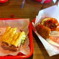 Photo taken at Liborio's Latin Cafe & Catering by Ryan P. on 3/7/2012