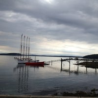 Photo taken at Bar Harbor Pier by Jeremiah B. on 6/21/2012