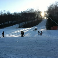 Photo taken at Shawnee Mountain Ski Area by Melissa D. on 2/26/2012
