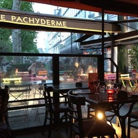 Photo taken at Le Pachyderme by Ty I. on 5/8/2012