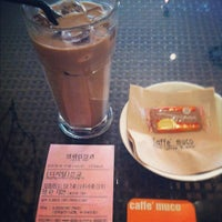 Photo taken at Caffe' muco by Dawon K. on 5/5/2012