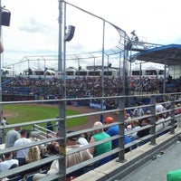Photo taken at Pim Mulier Baseball Stadium by Jolanda d. on 7/21/2012
