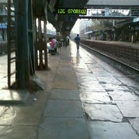Photo taken at Charni Road Railway Station by Harshul N. on 3/9/2012