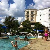 Photo taken at La Cantera Hill Country Resort Pool by Damon G. on 9/1/2012