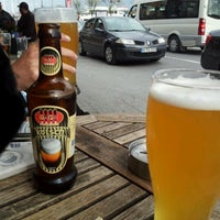 Photo taken at Taps Brewery by Irem A. on 4/15/2012