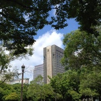 Photo taken at Hibiya Park by Hideaki T. on 7/2/2012