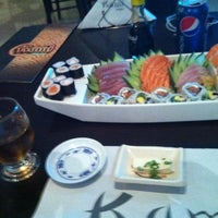 Photo taken at Kami Sushi by Paulo L. on 7/5/2012