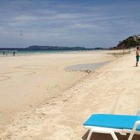 Photo taken at Samae Beach by Phuchit P. on 8/17/2012