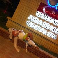 8/26/2012 tarihinde Ekateriina A.ziyaretçi tarafından Crystal Aura Beach Resort Hotel&Spa'de çekilen fotoğraf