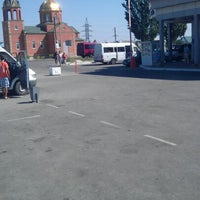 Photo taken at Автовокзал «Кирилівка» by Anna L. on 7/25/2012